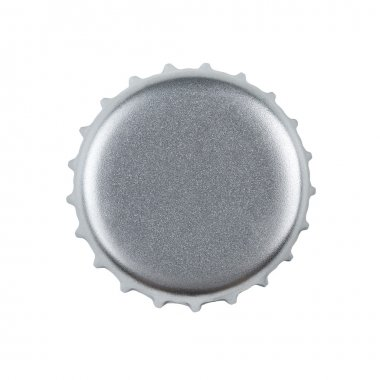 Blank bottle cap with clipping path