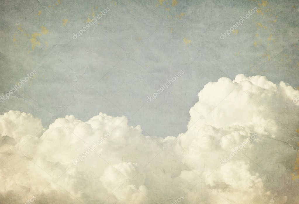 Grunge sky background