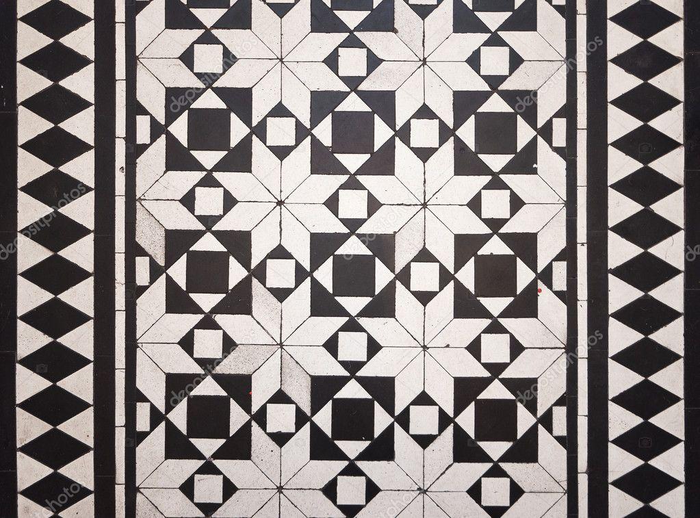 Victorian Style Floor Tile Pattern Stock Photo Jrphoto 11199192