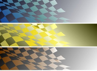 Background banners
