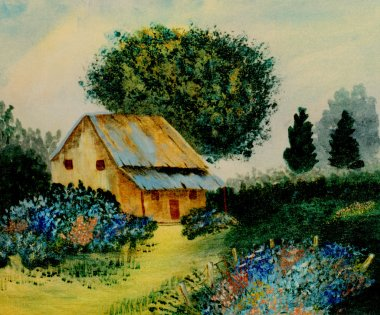 "Картина, постер, плакат, фотообои ""абстрактная живопись"", артикул 11815766"