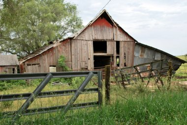 Old Kansas Barn