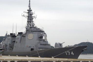 Kirishima torpedo missle destroyer, Yokosuka, Japan