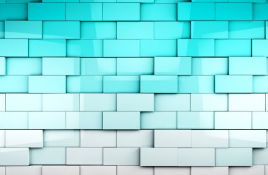 Mosaic cubes background