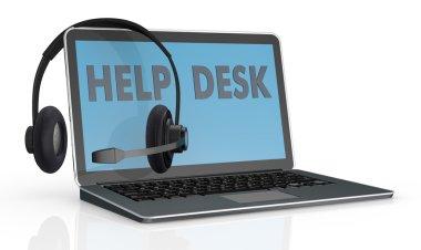 Concept of help desk service