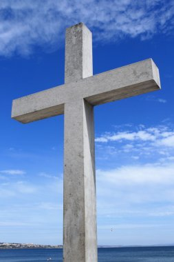 Cross made from stone