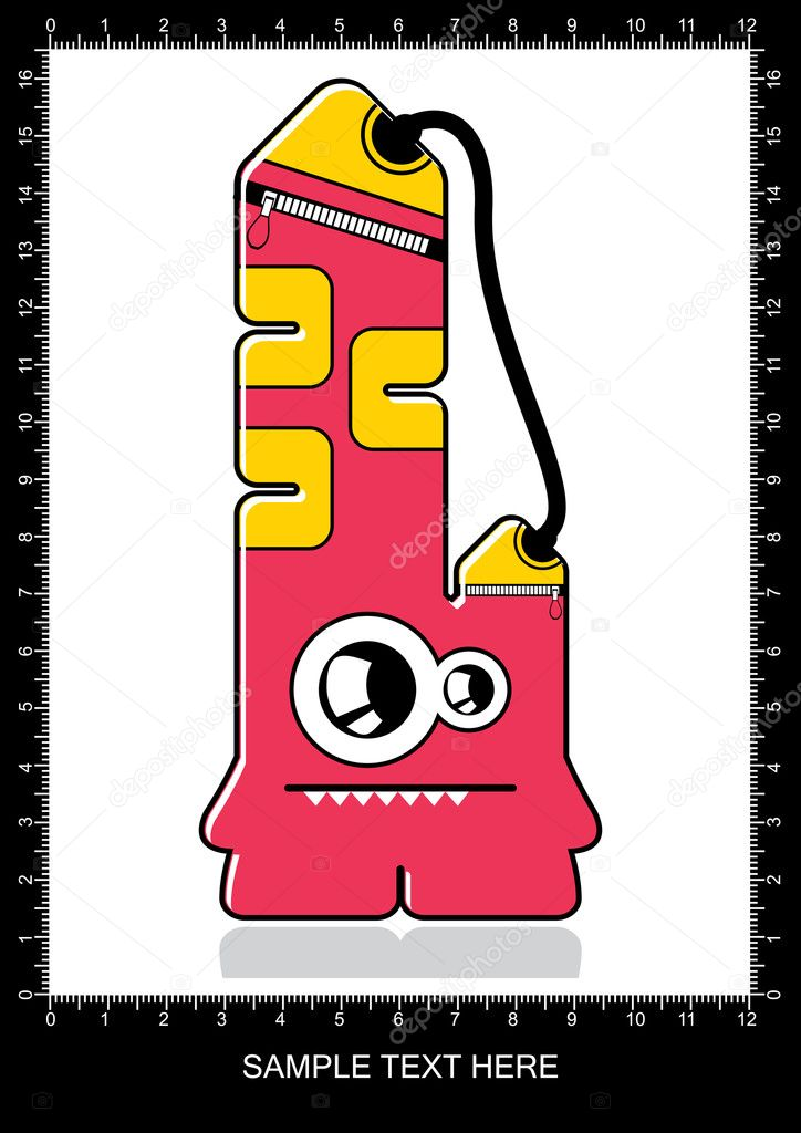 Monster Stock Vector Aleabievsasha 11044704