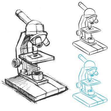 Microscope Drawing Set