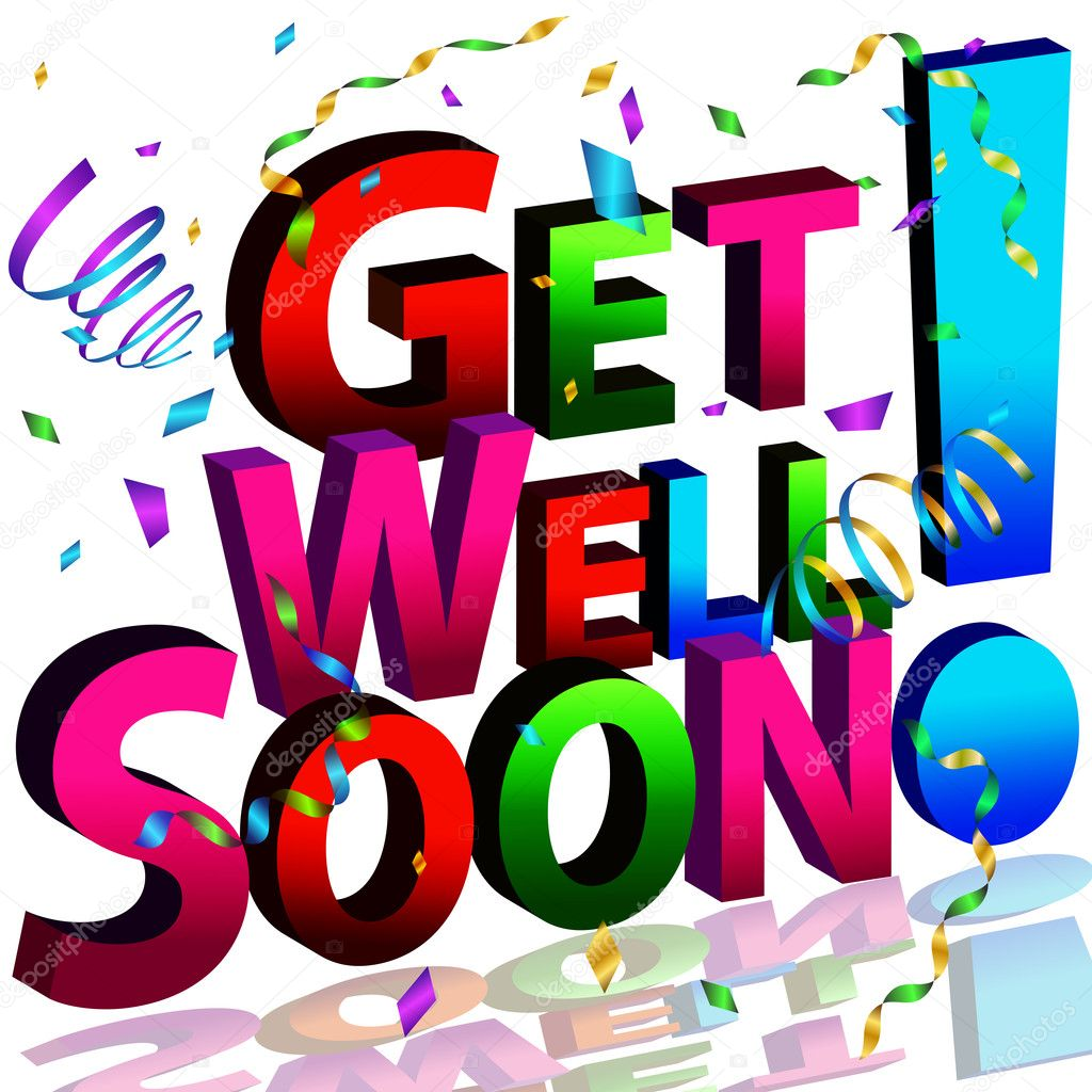 Get Well Soon Stock Vectors Royalty Free Get Well Soon