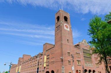Beurs van Berlage (Old Stock Exchange) in Amsterdam, Netherlands