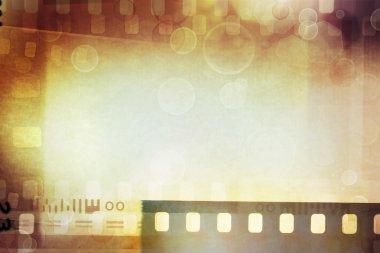 Film negatives background