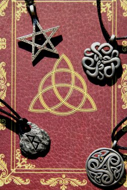 Book of shadows and accessories