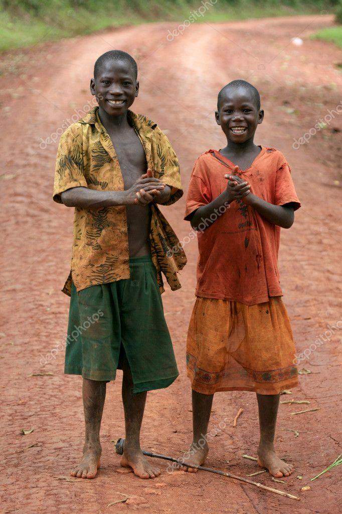 Two Boys - Uganda, Africa