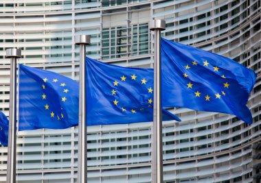 """Картина, постер, плакат, фотообои """"европейские флаги"""", артикул 11897964"""