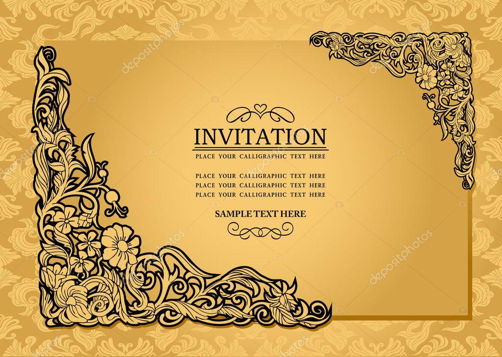 Antique Wedding Invitations is beautiful invitations ideas