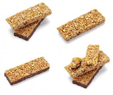 Cereal bar healthy food nutrition