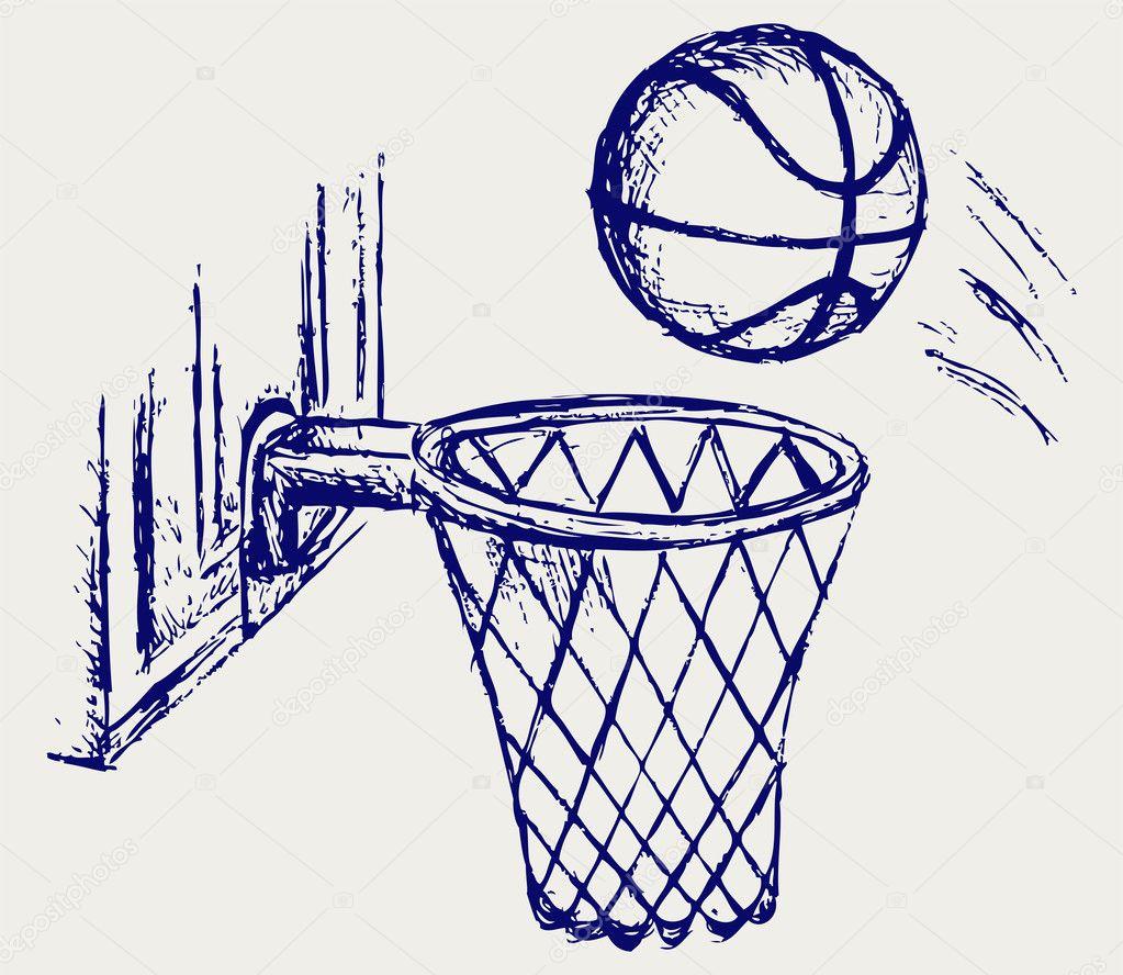 tablero del baloncesto — Vector de stock © Kreativ #11452528