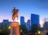 Fotografie Boston veřejné zahrady