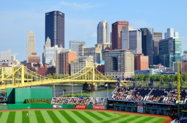PNC Park and Downtown PIttsburgh