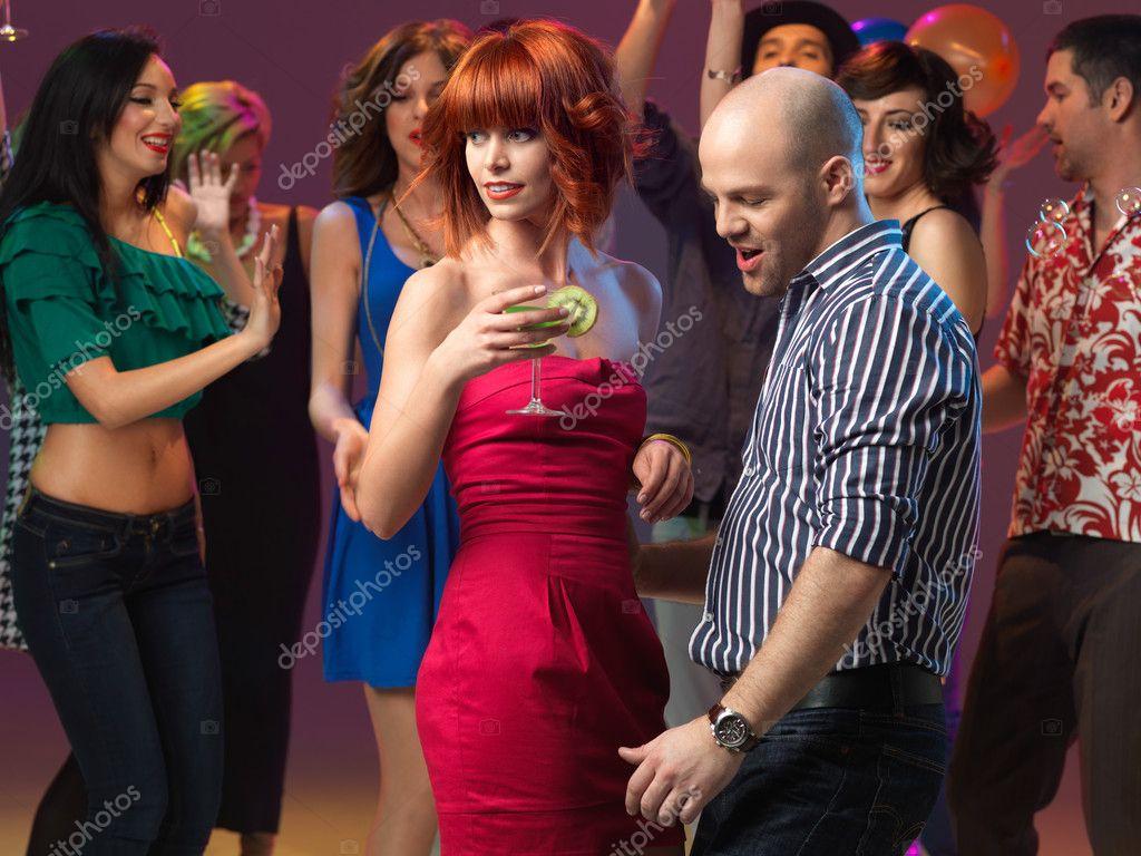 Sexy Couple Dancing, Flirting In Night Club  Stock Photo  Shotsstudio 11842281-8161