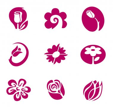 Flower and floral elements