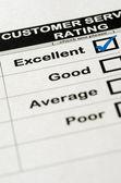 Fotografie Excellent Customer Service Rating