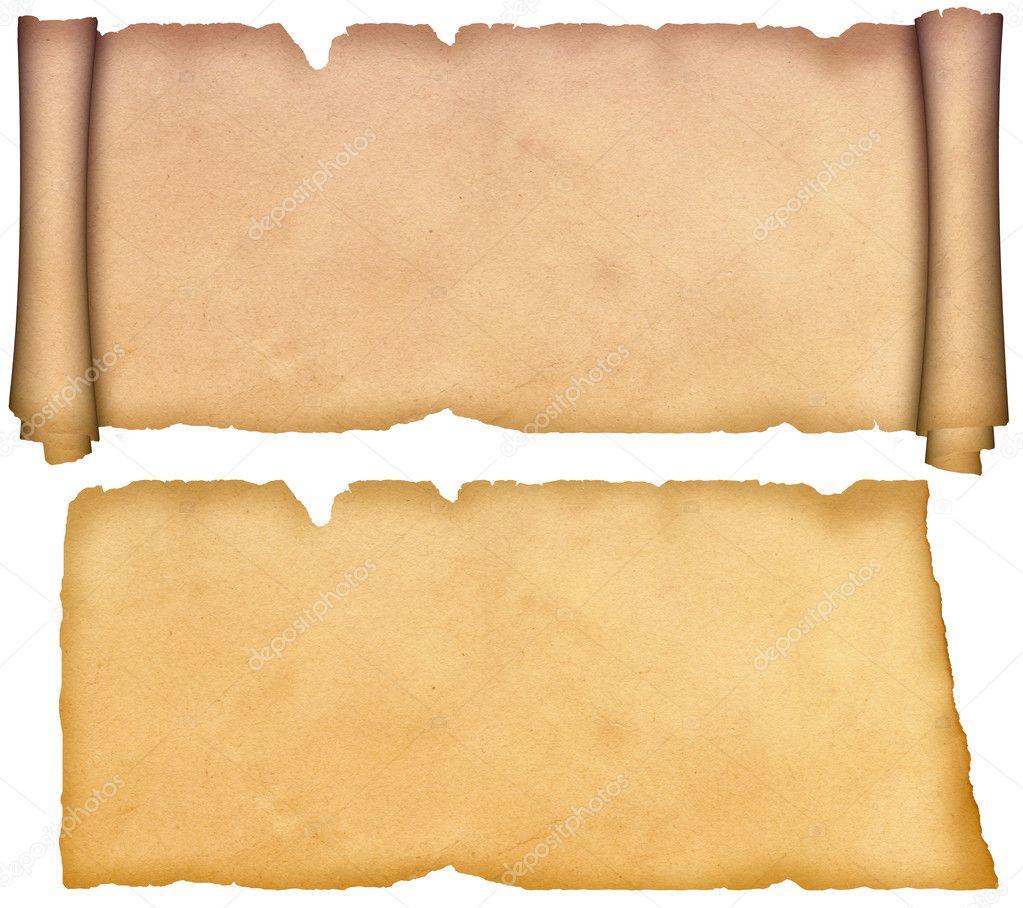 Antique Scroll Paper: Stock Photo © Ke77kz #10740860