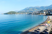 Summer coastline morning view (Albania)