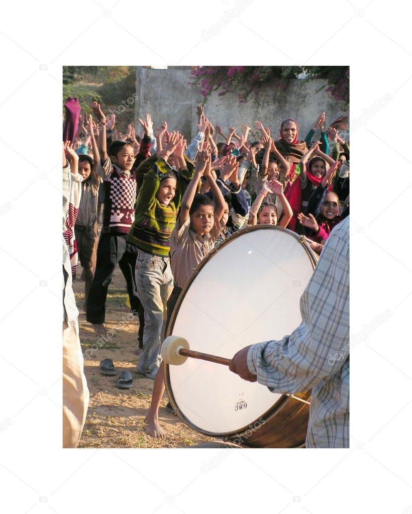 The drum.