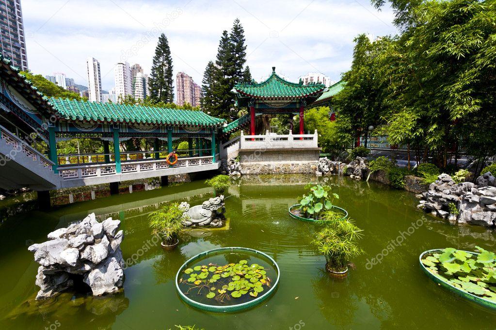 Jard n chino foto de stock kawing921 11110095 for Jardin chino alcantarilla