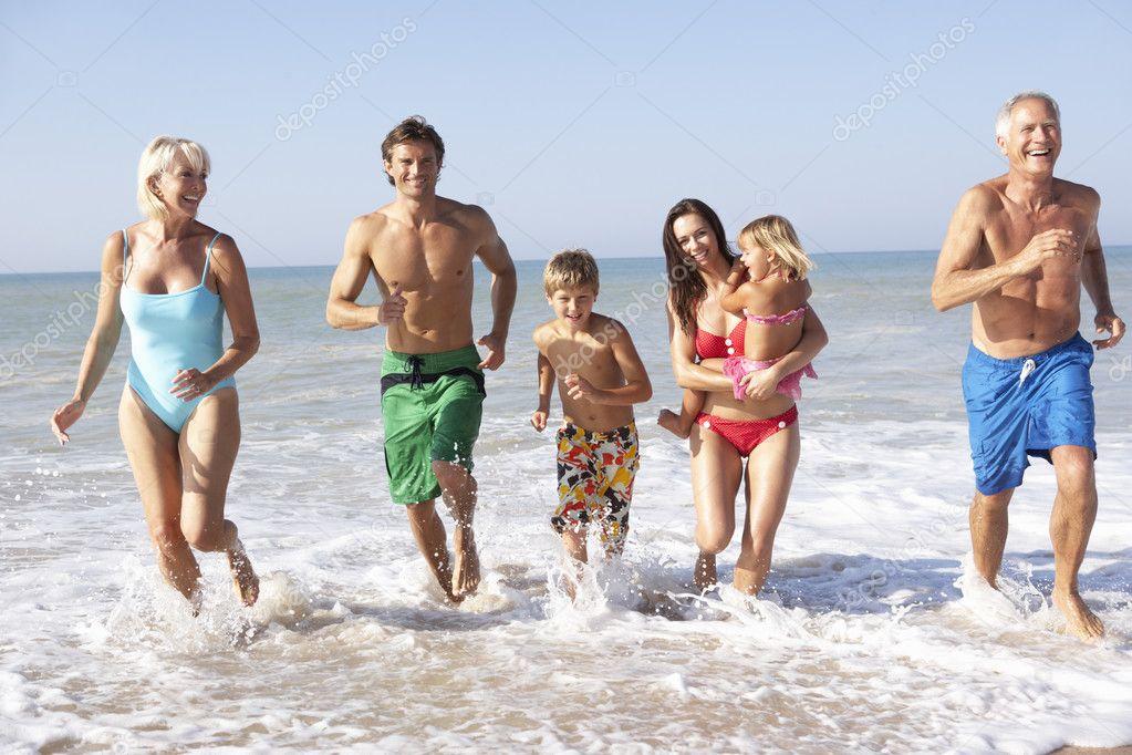 Нудисты семья фото