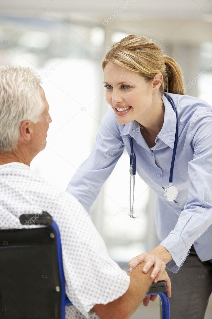знакомства пациентом