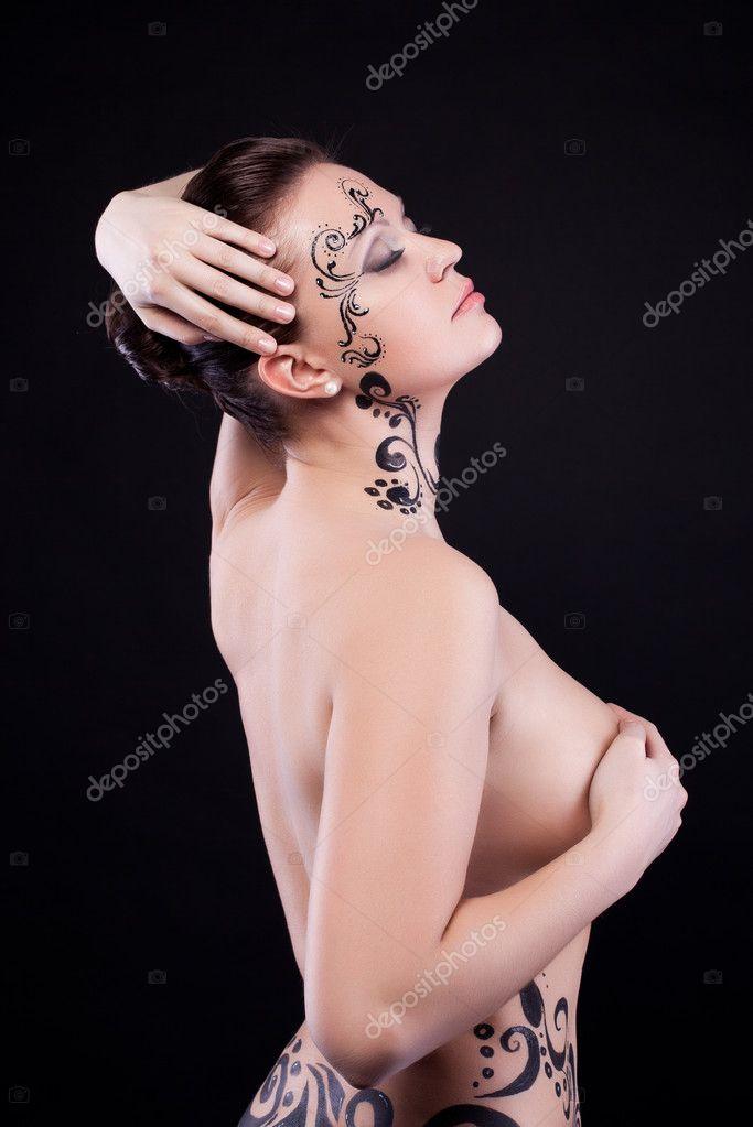 αρσενικό γυμνό μοντέλο τέχνης