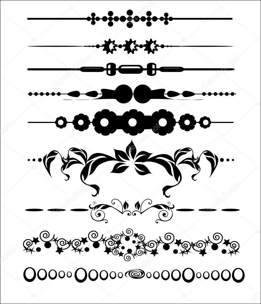 Ornamentales y elementos de decoraci n dise o de p ginas - Paginas de decoracion ...
