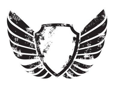 Winged crest