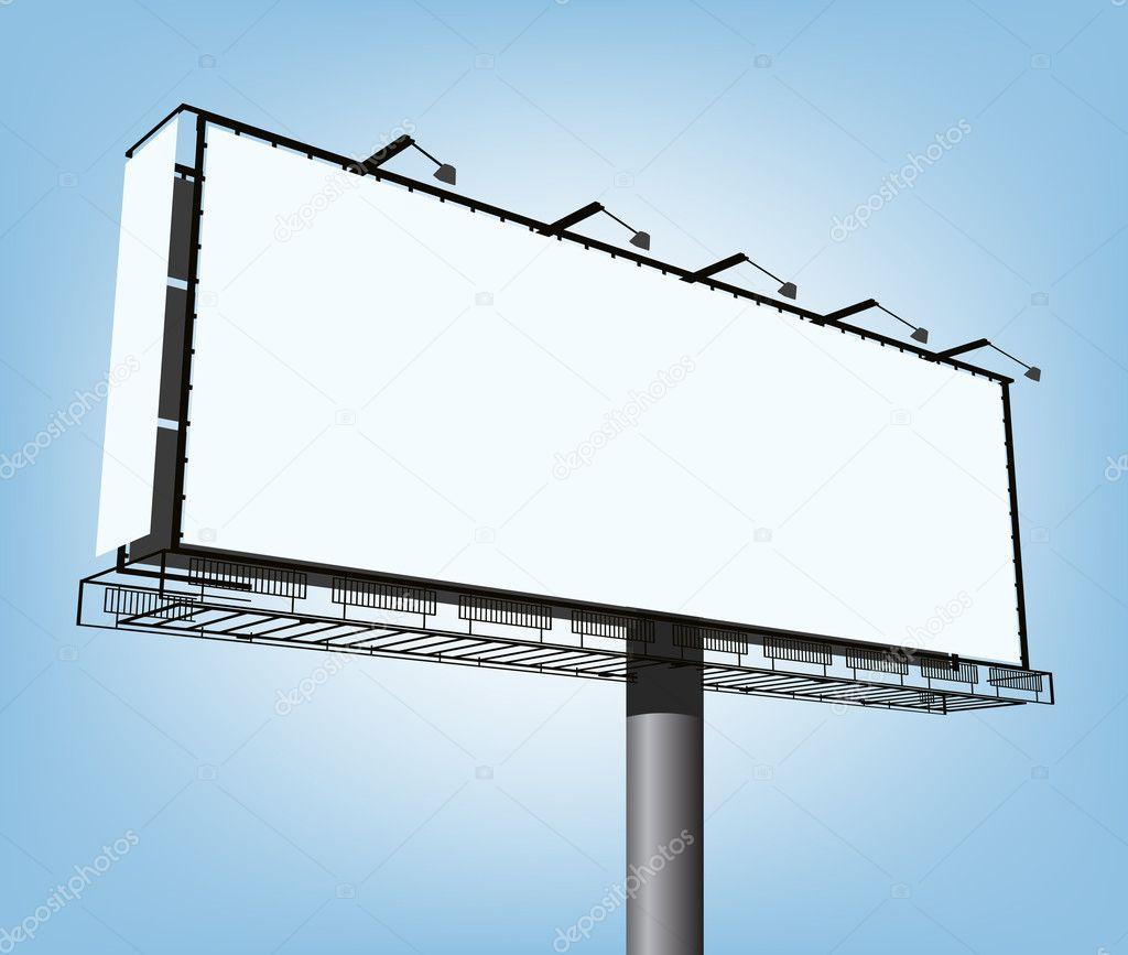Vector advertising construction