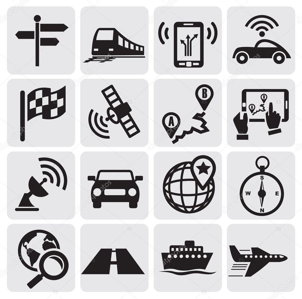 Navigation icons