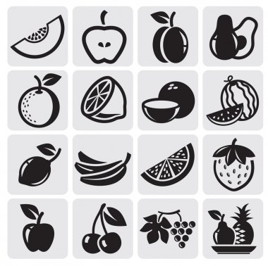Fruit vector set