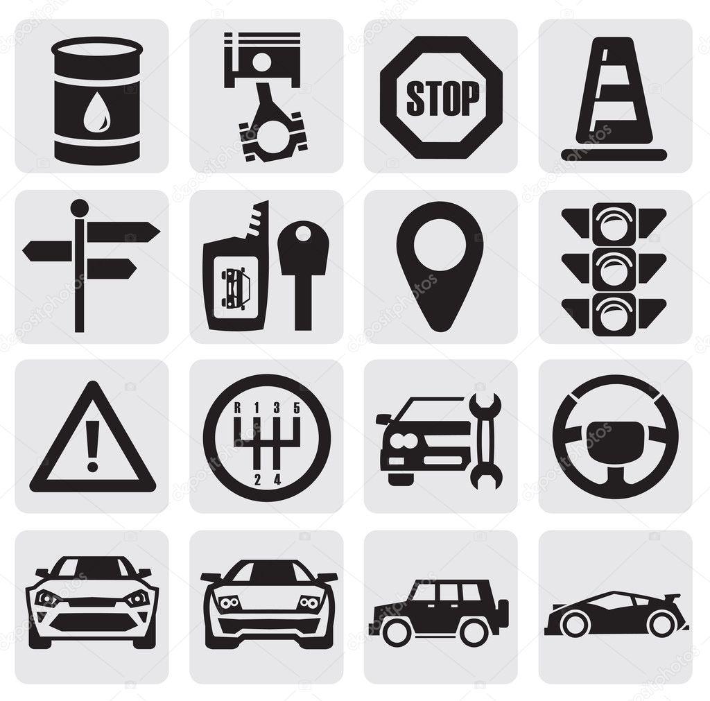 sistema de auto — Vector de stock © bioraven #12078470