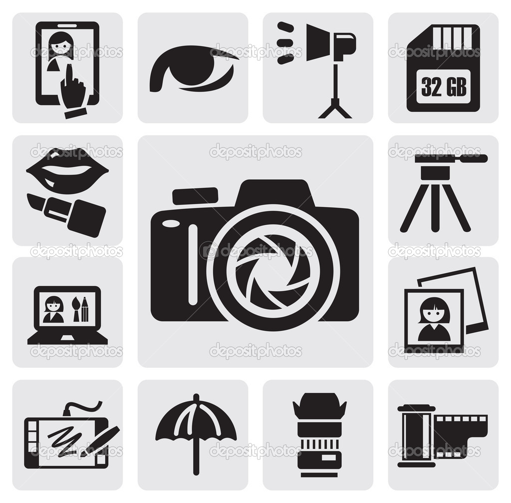 EPS Illustration - No camera symbol on white background. Vector Clipart  gg91981032 - GoGraph