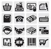 Einkaufs-Symbole
