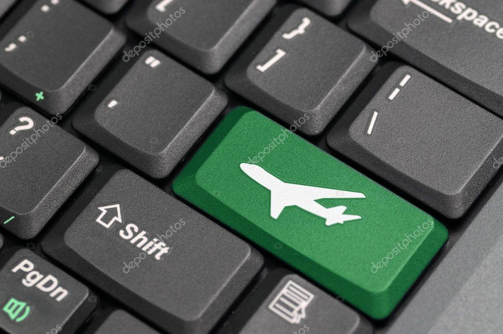 Airport Symbol On Keyboard Stock Photo Payphoto 11296645