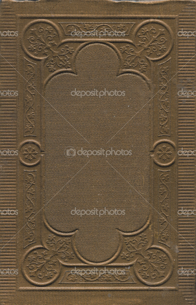 Vintage Book Cover Background : Antique book cover background — stock photo alisbalb