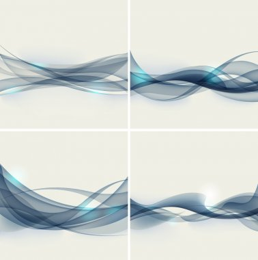 Abstract wave. vector illustration.