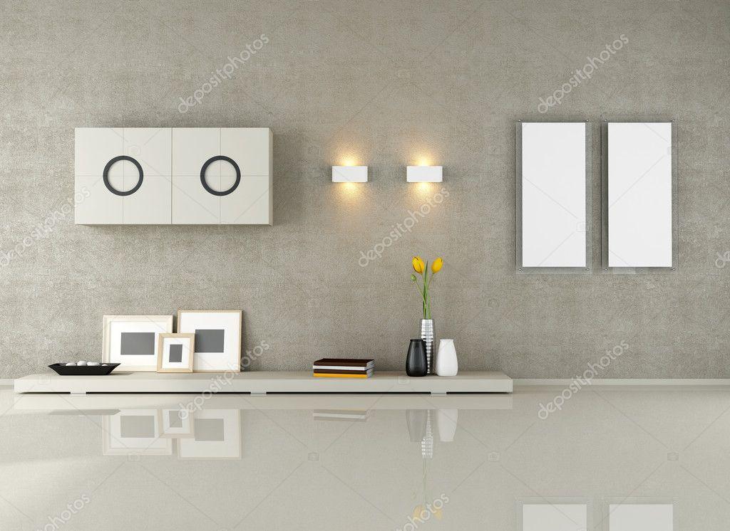 Minimalistisches Wohnzimmer — Stockfoto © archideaphoto ...