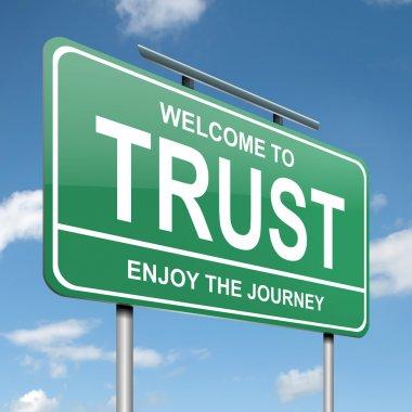 Trust concept.