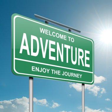 Adventure concept.