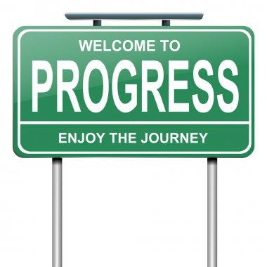 Progress concept.