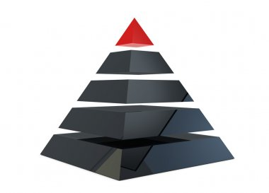 Illustration of a pyramid