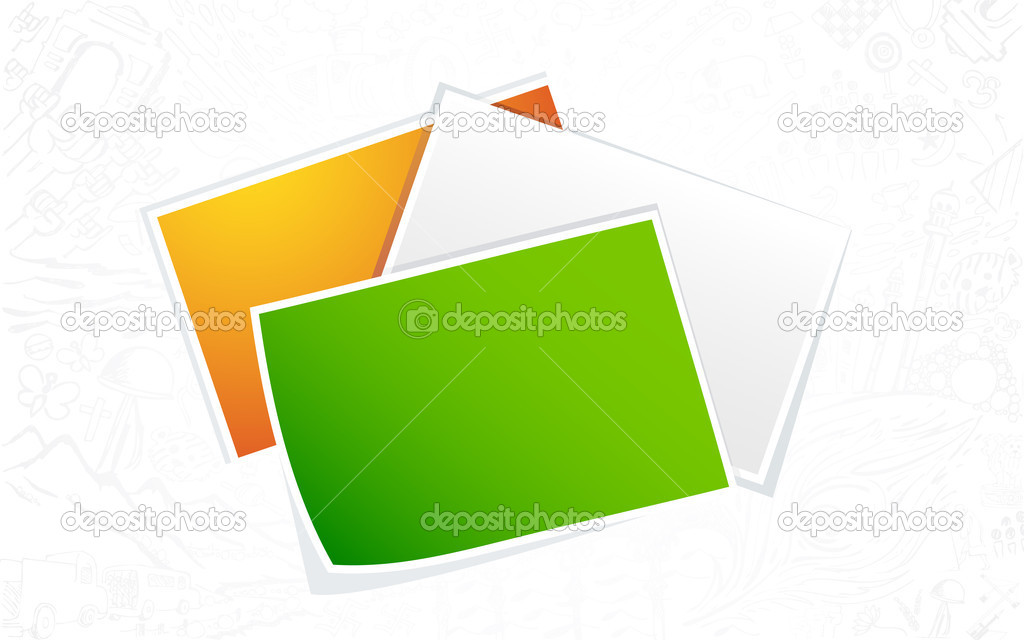 indische Flagge Farbfoto leer — Stockvektor © vectomart #11583026